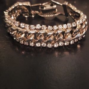 Jewelry - Vintage Rhinestone Bracelet